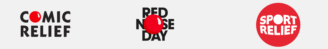 Comic Relief, Red Nose Day and Sport Relief}